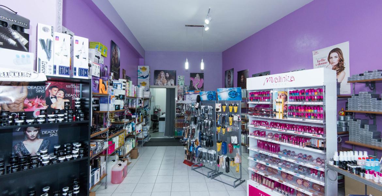 negozio forniture parrucchieri